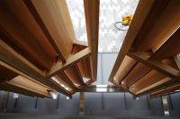 京都木材会館:ルーバーのディテール