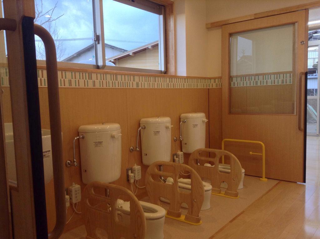 0〜1歳児トイレの様子