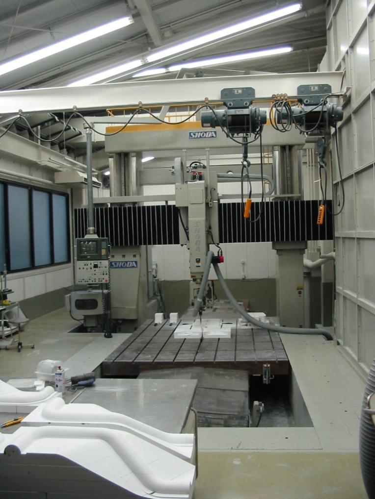 NC加工室