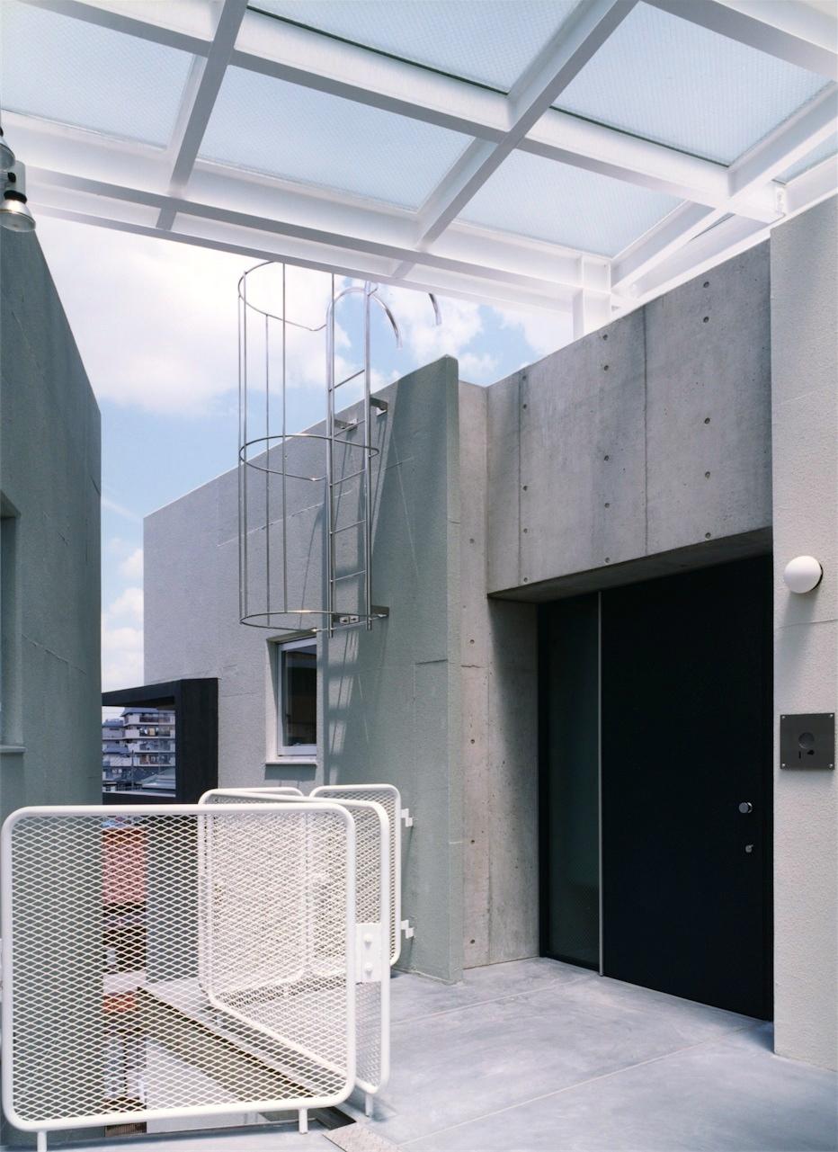13:共用廊下(最上階)