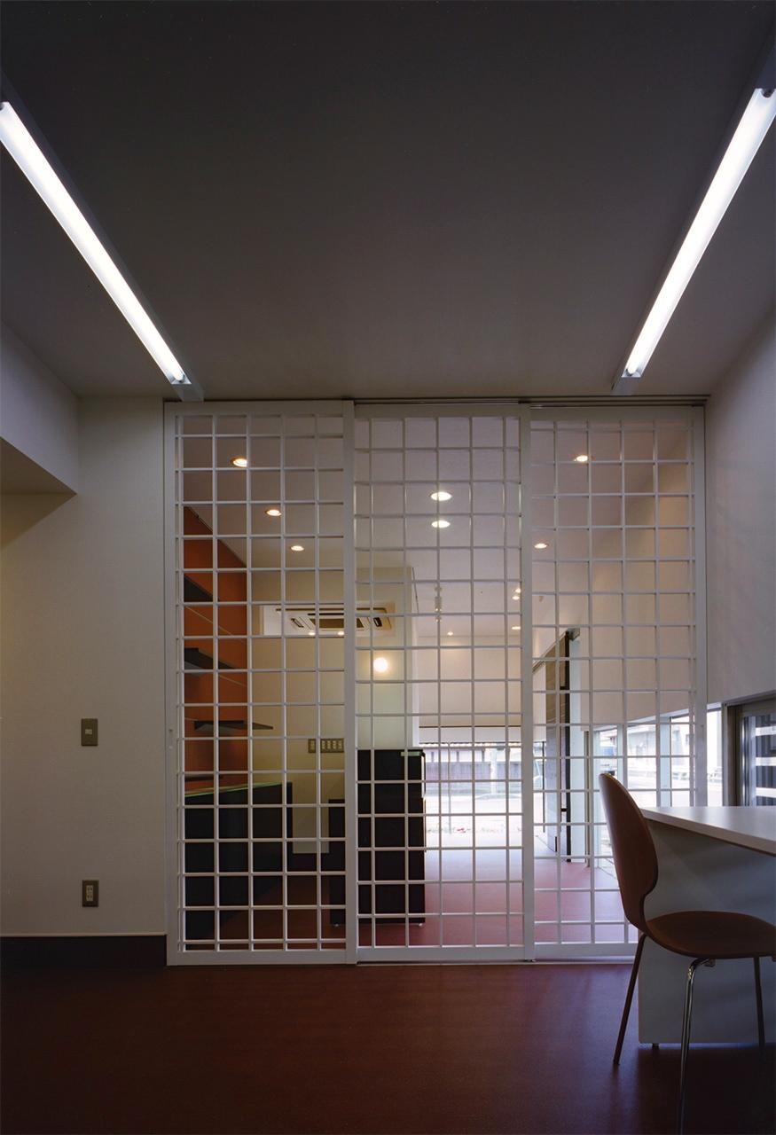 08:作業スペースを区切る建具