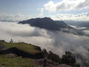 竹田城 雲の上