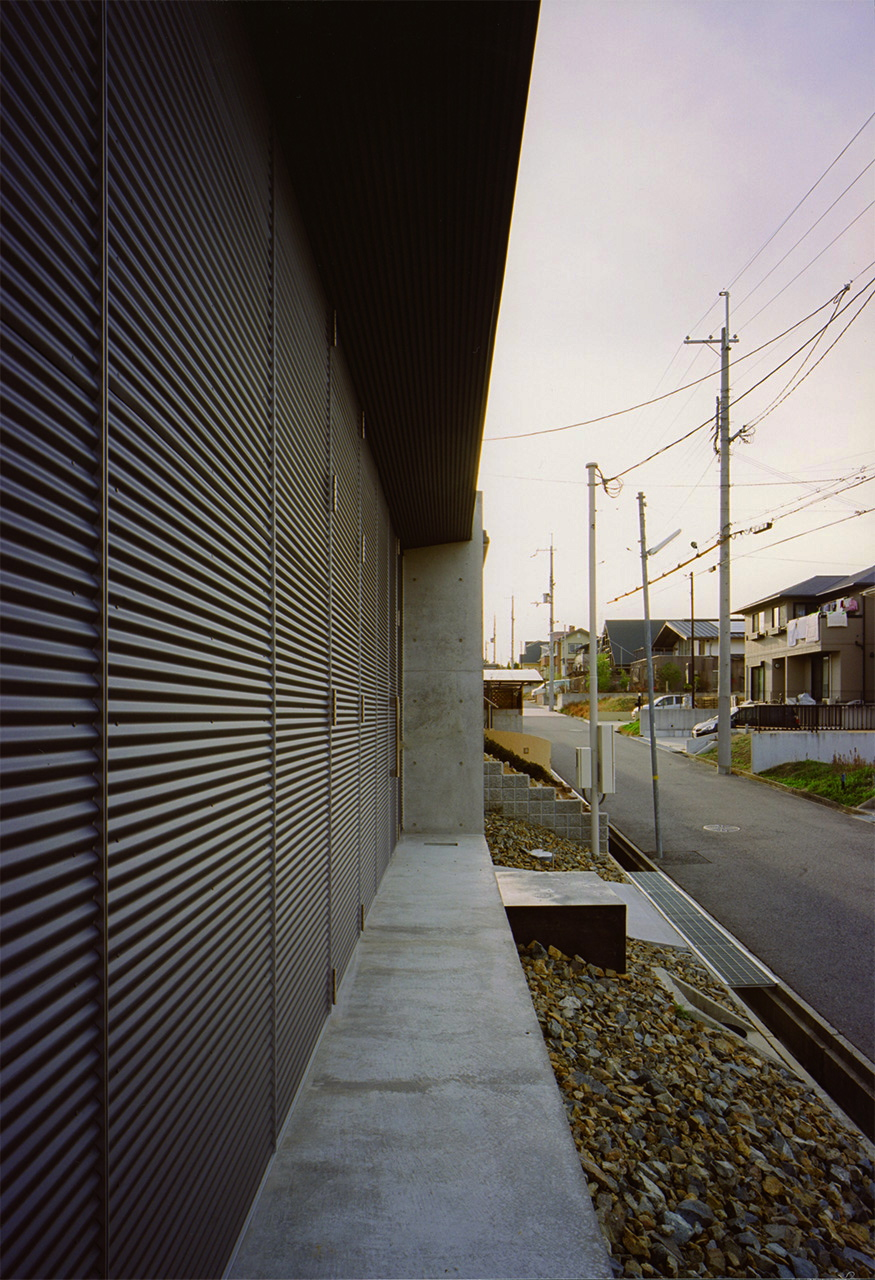 10:ガルバリウム外壁の詳細