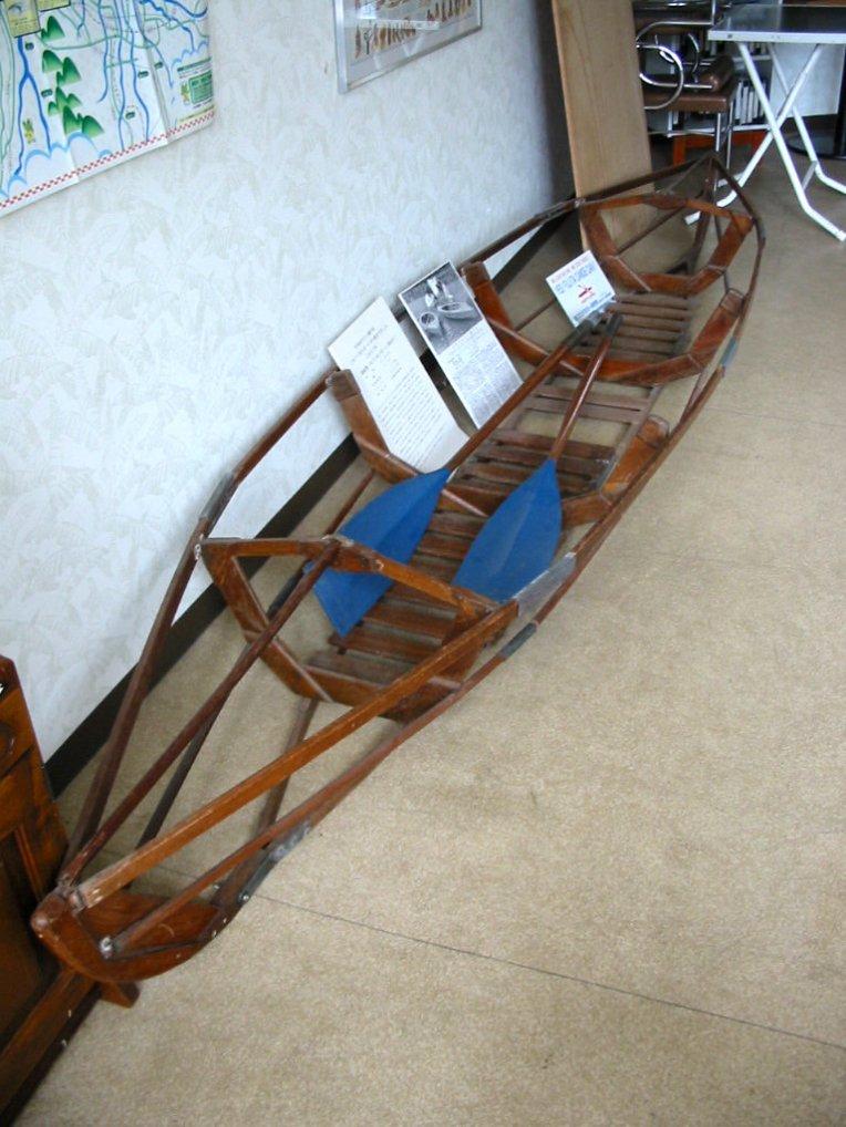 国産第1号(1947)のファルトボート