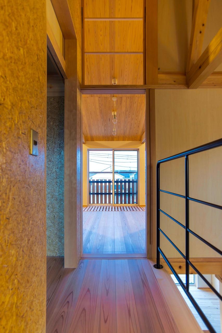 2階の廊下|satoyama25 - P_kan