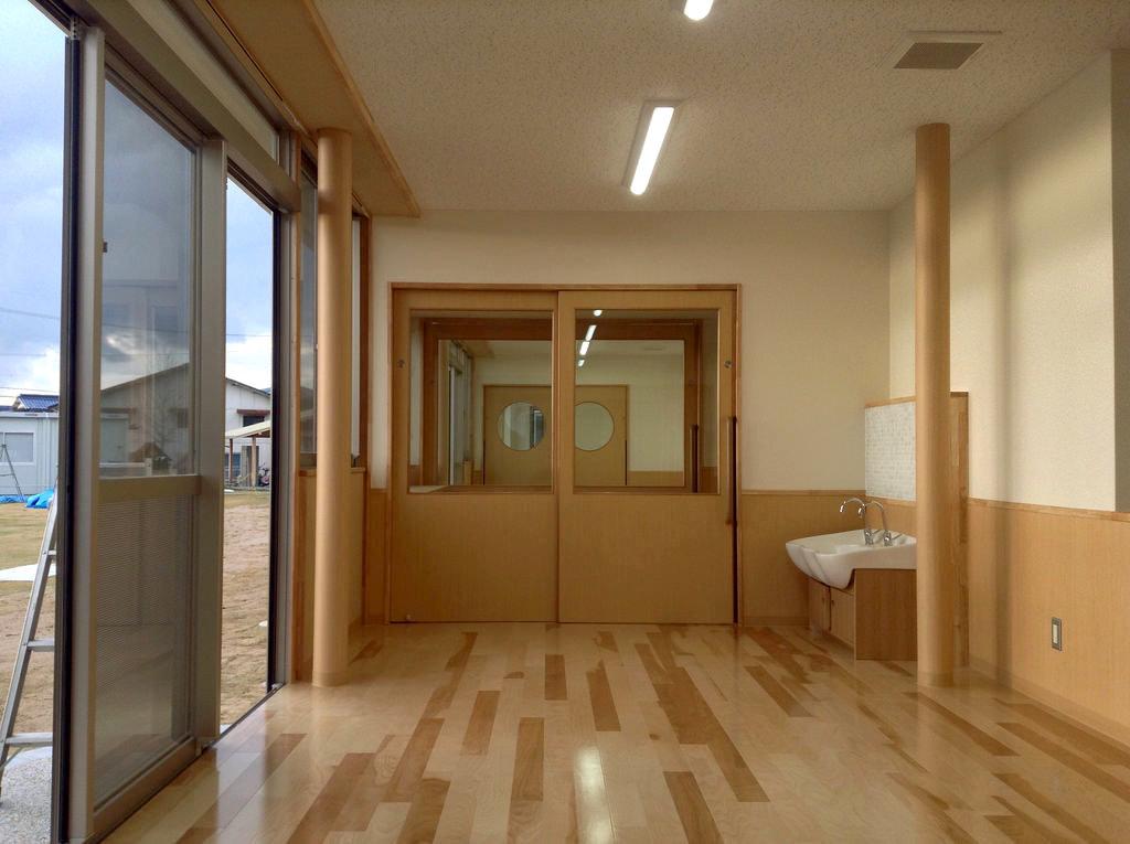 増築保育室の様子