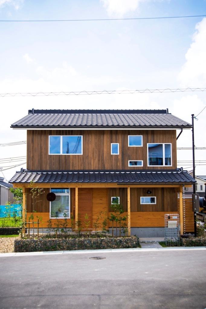 北側外観|satoyama25 - P_kan