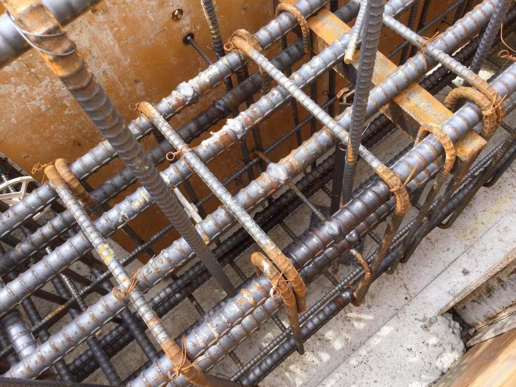 溶接継手の施工箇所