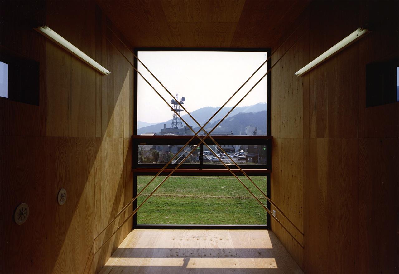 28:子供室の南の窓