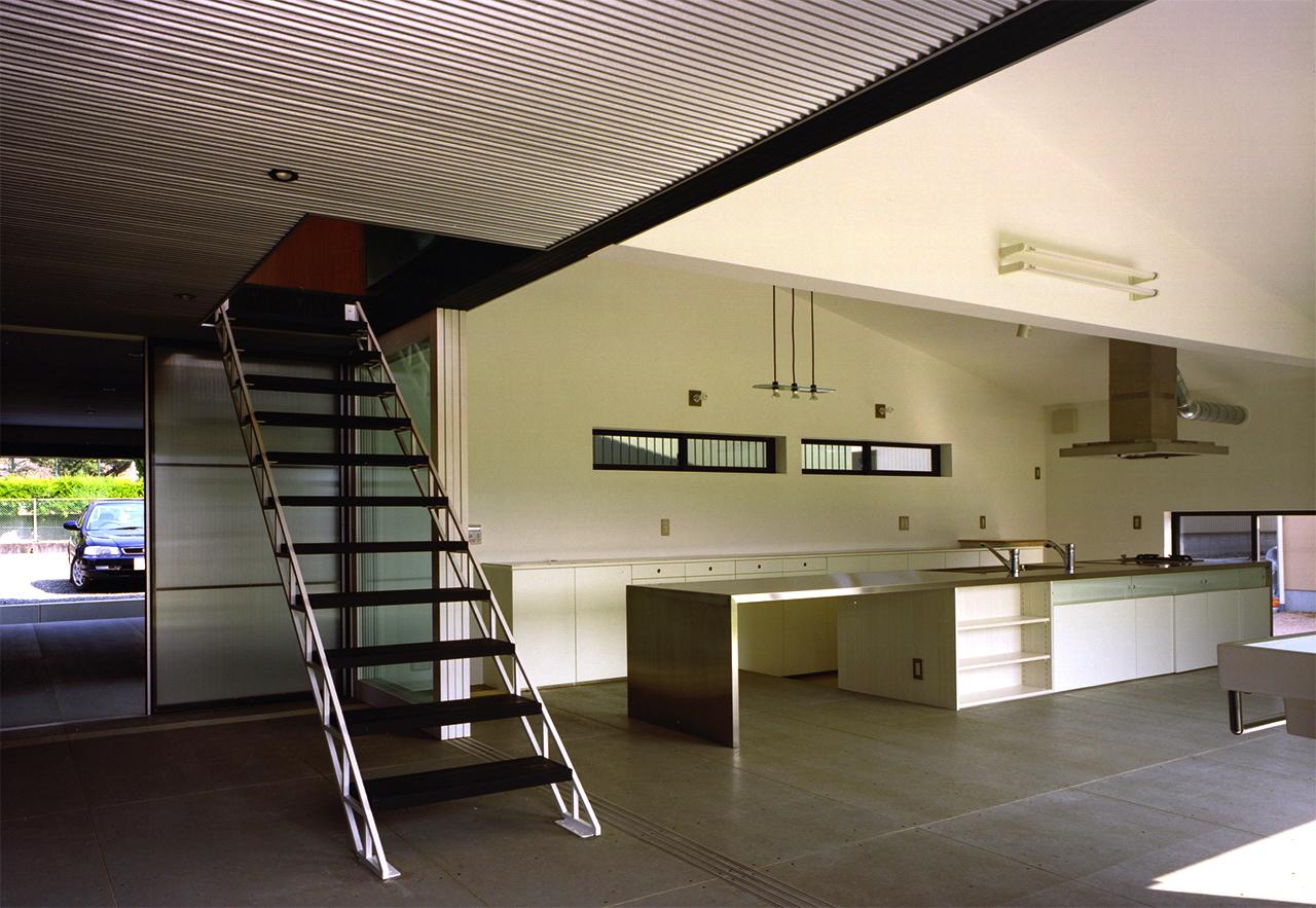 13:廊下からキッチン