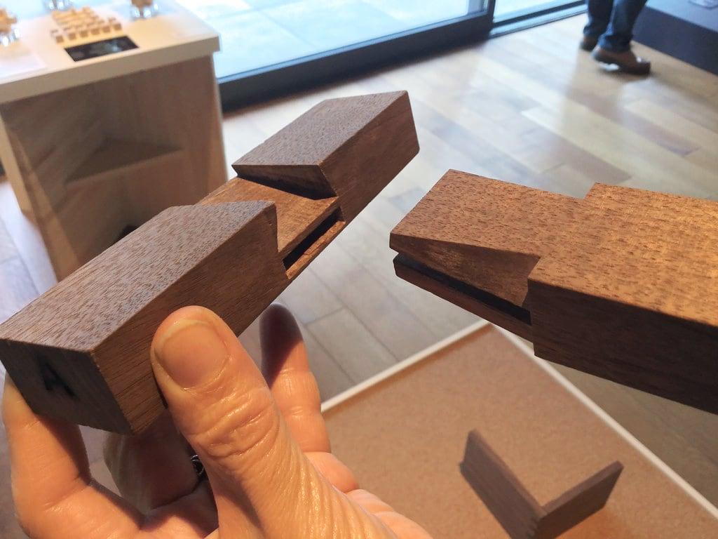 竹中大工道具館「木組 分解してみました」